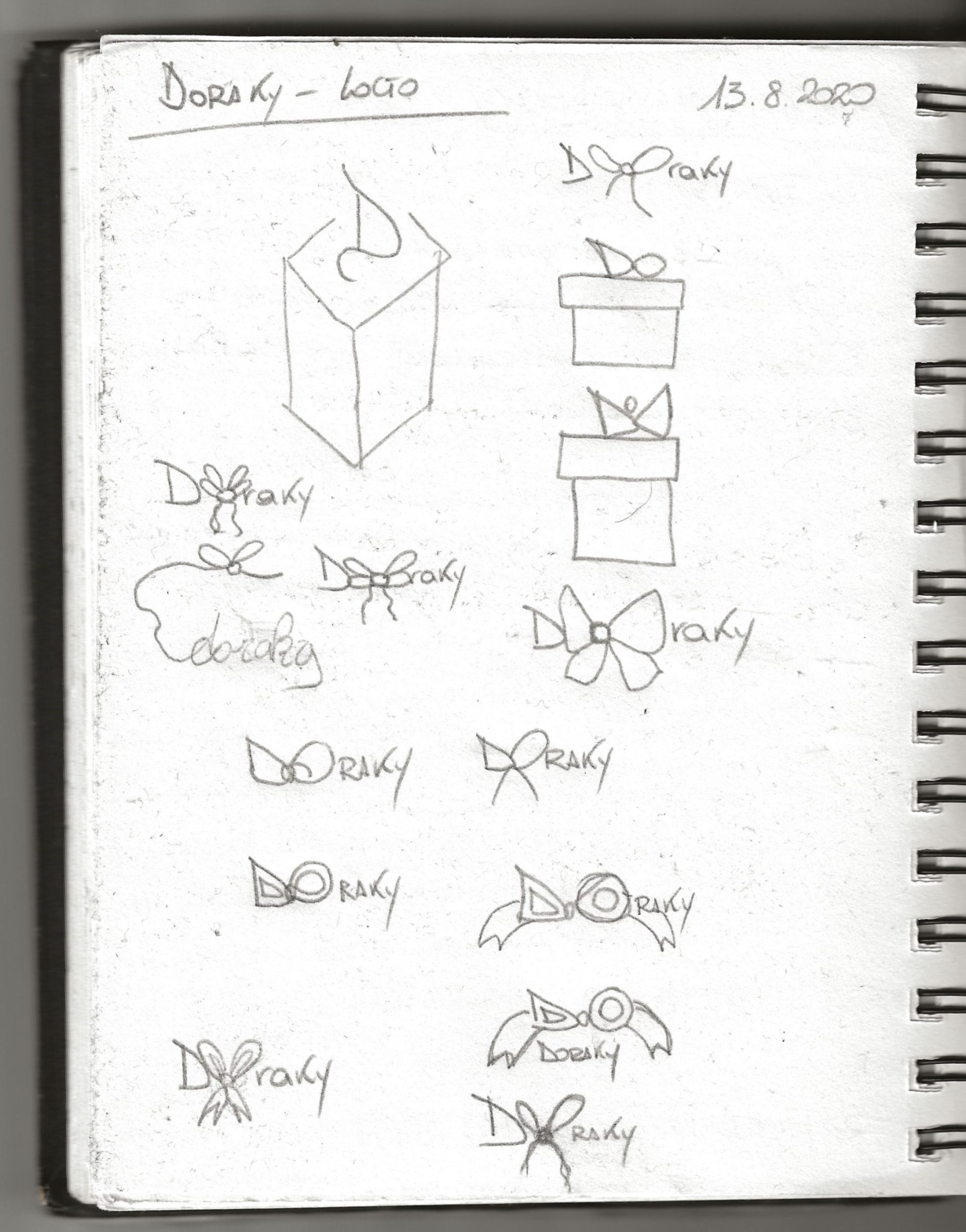 doraky_logo_sketches
